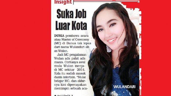 Wulandri Suka Job Nge-MC di Luar Kota, Paling Sebel Bila Panitia Tak Siap