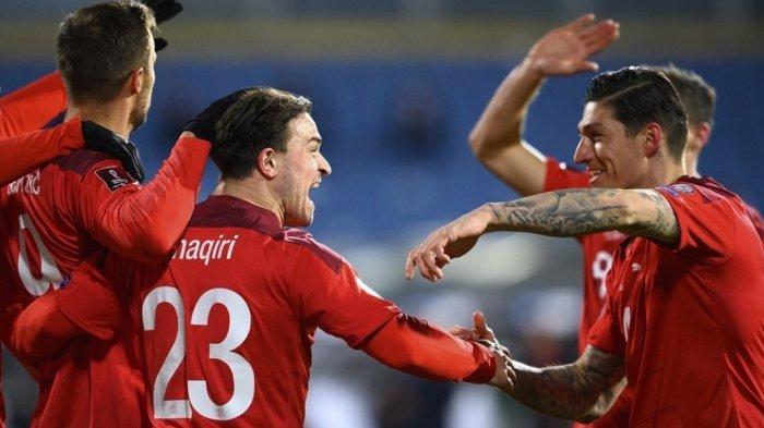 Susunan Pemain & Link Streaming Wales vs Swiss Live MNC TV Euro 2021, Duel Bale vs Shaqiri