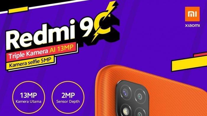 Sudah Resmi, Ini Harga & Spesifikasi Xiaomi Redmi 9C, Lihat Juga Harga HP Xiaomi Terbaru September