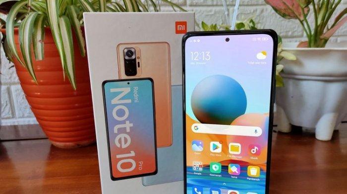 Kenalan dengan Xiaomi Redmi Note 10 Pro, Varian Smartphone Kelas Menengah