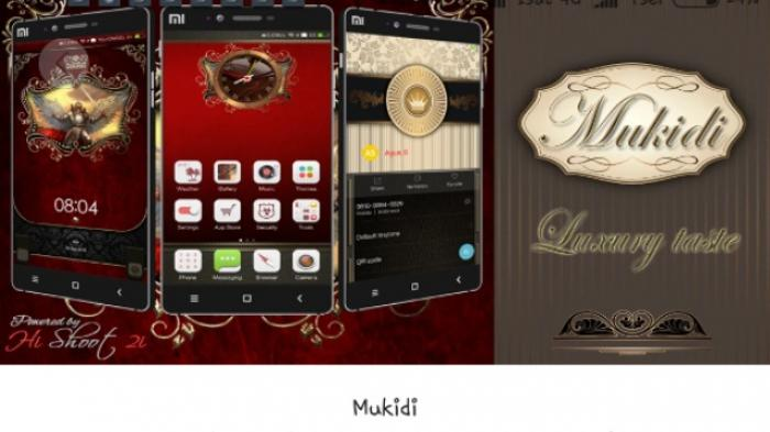 Wah, Mukidi Juga Muncul di Theme Store Xiaomi
