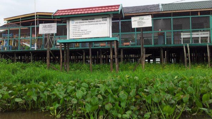 Bangunan Posyandu Intergrasi Desa Ambahai Hulu Sungai Utara