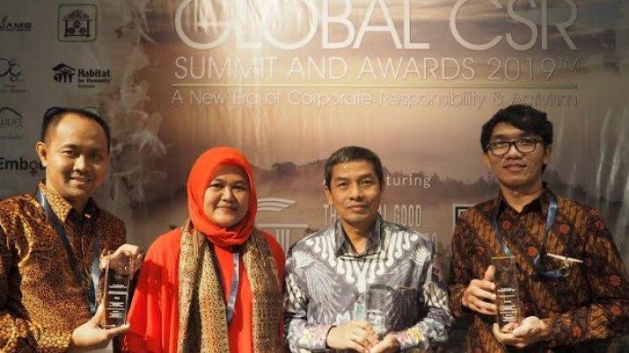 Adaro Energy Raih 3 Penghargaan Program CSR di Ajang Global CSR Summit & Award di Serawak Malaysia