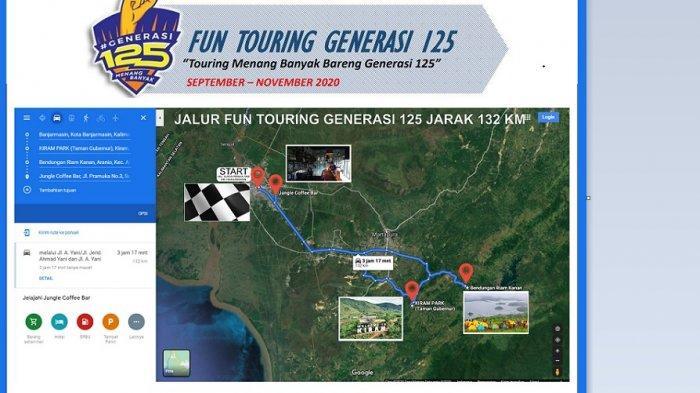 Fun Touring Generasi 125, PembuktianYamaha Freego Sepeda Motor Perkotaan yang Andal