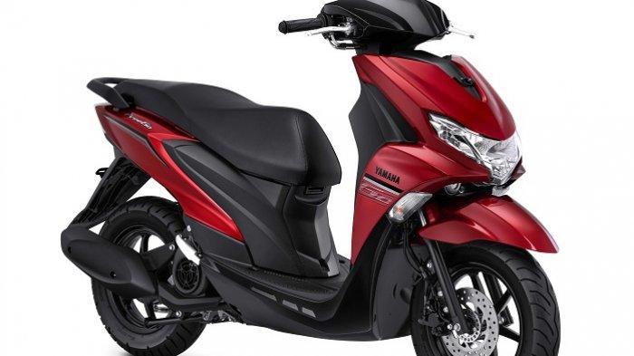 Yamaha Freego Metallic Red.