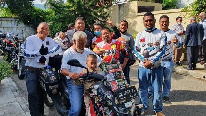 Riding Lebih 5.000 Km, Lilik dan Balda Sukses Misi Ride to East Bersama All New NMAX 155 Connected