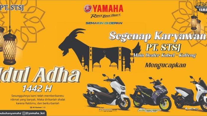 Yamaha Serukan Berkurban dan Taati Prokotol Kesehatan