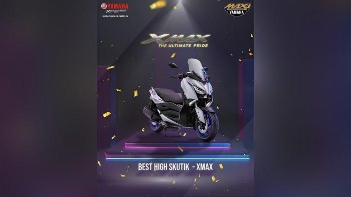 Yamaha LEXi  Best of Medium Skutik di kelas 125cc dalam ajang Otomotif Award 2021