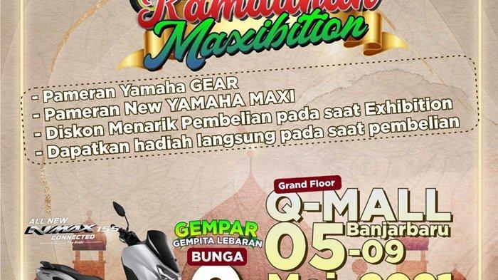 Expo Bazar Ramadan Yamaha di Q Mall Banjarbaru Dapat Cash Back Hingga Jutaan Rupiah