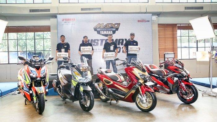 Antusiasme Tinggi Para Modifikator Maxi Yamaha Jelang Online Customaxi 2021