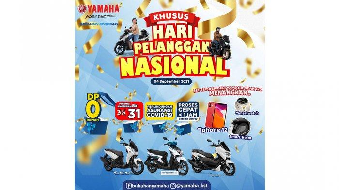 Yamaha Rayakan Hari Pelanggan Nasional dengan Program Spesial bagi Konsumen
