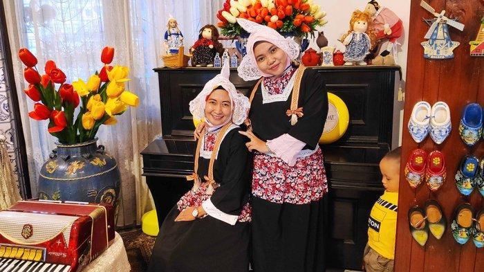 Rumah Makan De Koppel Banjarmasin Sewakan Pakaian Khas Belanda untuk Pengunjung Berswafoto