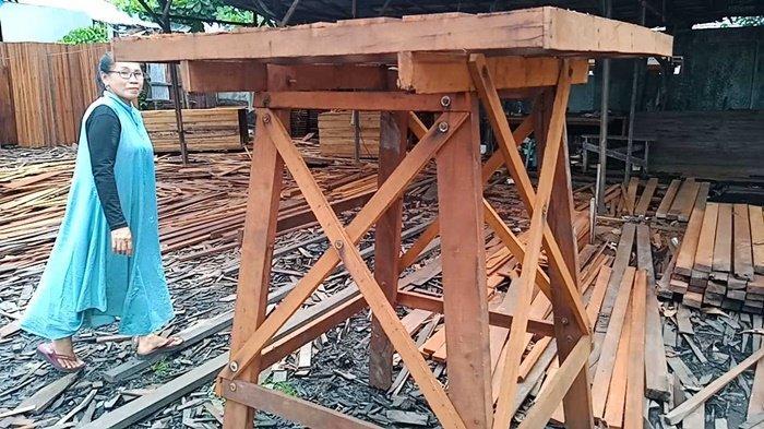 Lebih Murah, Beli Kayu Ulin di Sentra Pengolahannya di Lianganggang Banjarbaru
