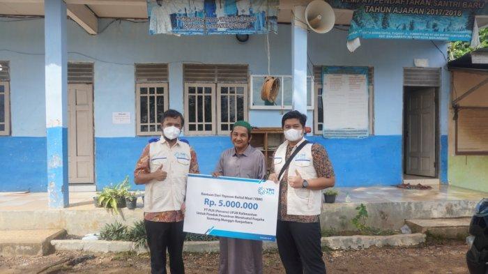 PLN UP2B Kalimantan Salurkan Bantuan ke Sekolah dan Ponpes di Kalsel - ybm-pln-up2b-kalimantan-vant.jpg