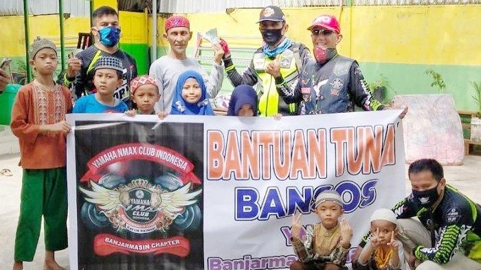 YNCI Banjarmasin Bantu Panti Asuhan dan Bagikan Masker serta Hand Sanitizer, Ini Susunan Pengurus