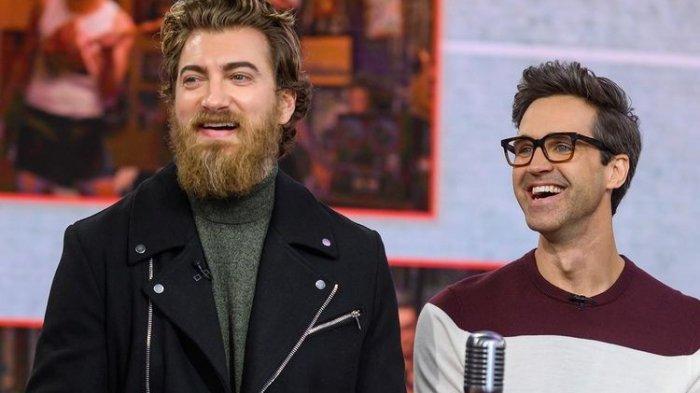 YouTuber Rhett and Link.