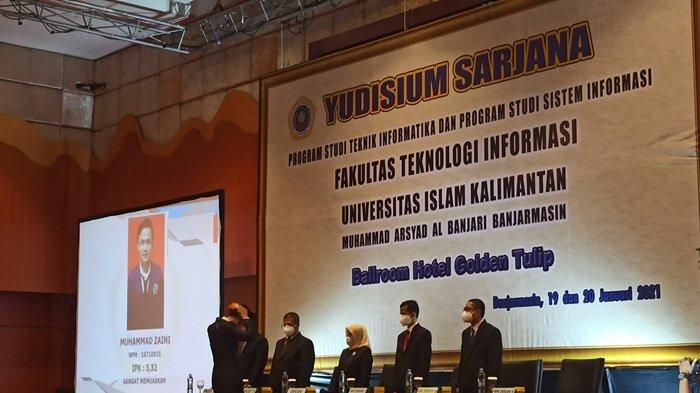 Yudisium Fakultas Teknik Informatika Uniska Banjarmasin, 652 Mahasiswa Dinyatakan Lulus