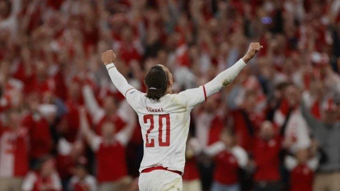 Denmark Lolos ke Semifinal EURO 2021 - Hasil Ceko vs Denmark, Skor 1-2 Ini Cuplikan Golnya