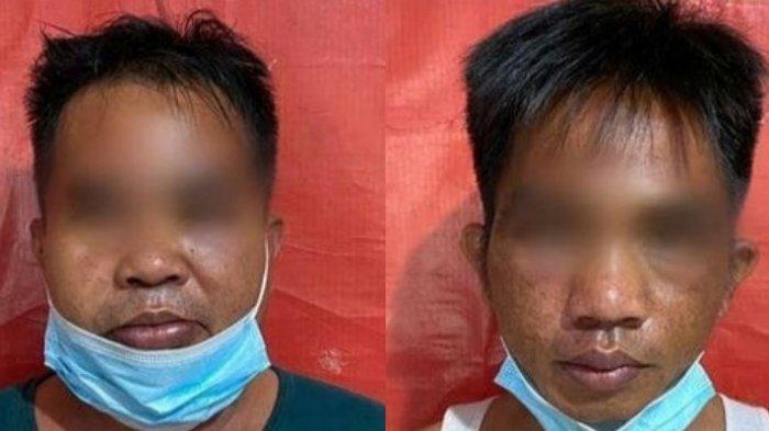 Narkoba Kalsel, Dua Warga Kabupaten Tala dan 21 Paket Sabu Diamankan Petugas Polda