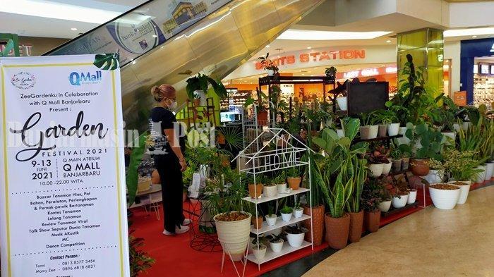 Ada Tanaman Langka di Garden Festival 2021 Q Mall Banjarbaru Kalsel