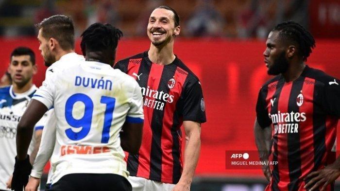Liga Italia Atalanta vs AC Milan Live Senin (24/5), Cara Zlatan cs Pastikan Langkah Mulus ke UCL