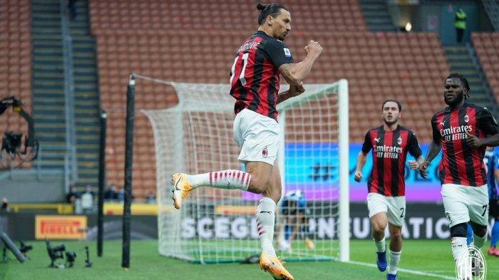 Hasil Inter vs AC Milan Skor 1-2, Dua Gol Ibra Warnai Babak I, Live Streaming RCTI di Sini - Banjarmasin Post