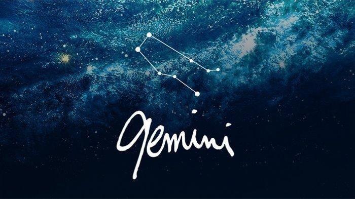 Ilustrasi Zodiak Gemini.