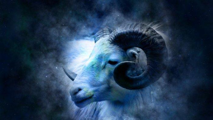 ilustrasi zodiak Aries.