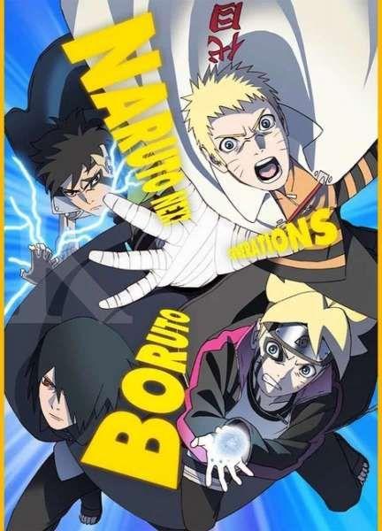 Visual baru Boruto: Naruto Next Generations Kawaki Arc