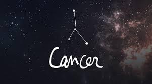 Ilustrais zodiak Cancer.