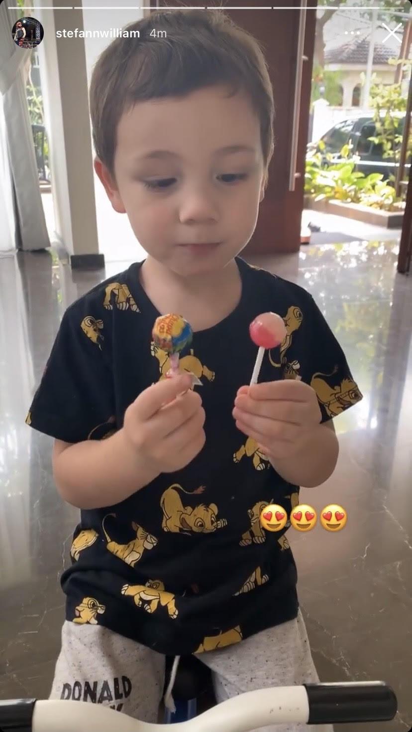 Kondisi anak Celine di rumah Stefan