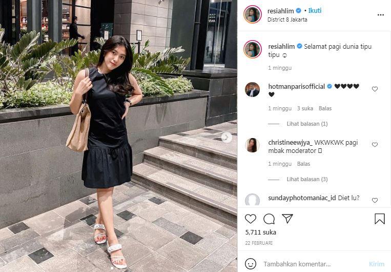 Hotman Paris komentari postingan Resiah Lim alias Echa