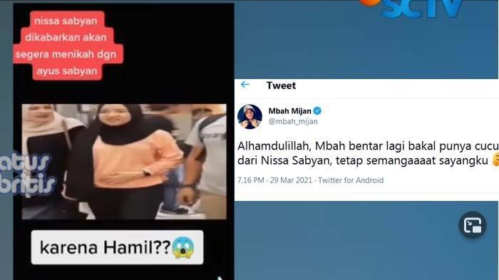 Isu Nissa Sabyan hamil, saat kabar akan menikah dengan Ayus diungkap Mbah Mijan