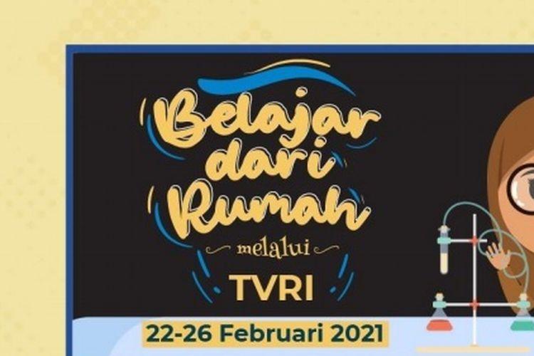 JADWAL TVRI Belajar dari Rumah Selasa 23 Februari 2021, PAUD & SD 1 - 6 Pukul 08.00 - 11.30 WIB