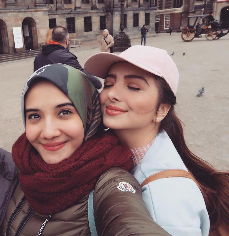 Kedekatan Sarah Samantha dengan Zaskia Sungkar