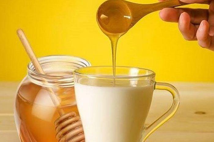 Khasiat madu campur susu untuk kesehatan.