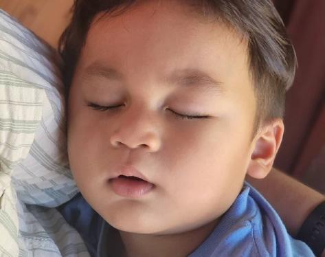 Kiano Tiger Wong tidur nyenyak