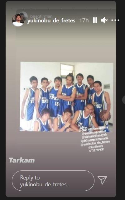 Nobu dan tim basketnya di masa lalu