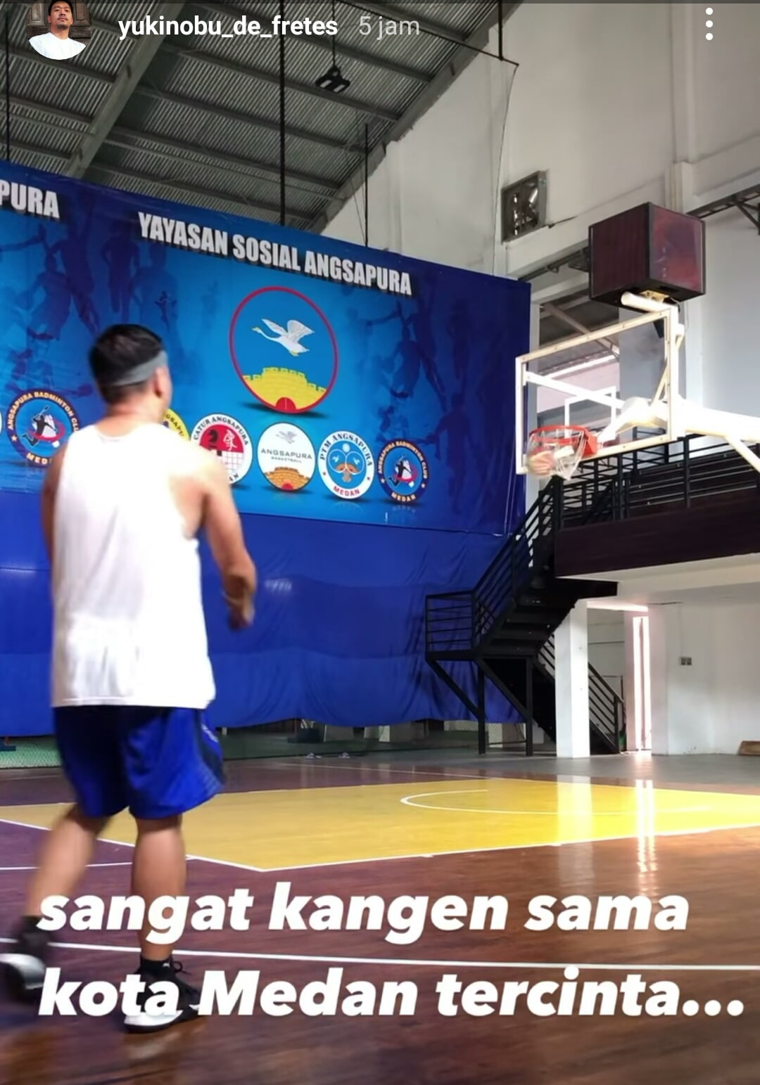Postingan <a href='https://jambi.tribunnews.com/tag/nobu' title='Nobu'>Nobu</a>, sebuah video di Story Instagram dan ucapan kangen <a href='https://jambi.tribunnews.com/tag/medan' title='Medan'>Medan</a>