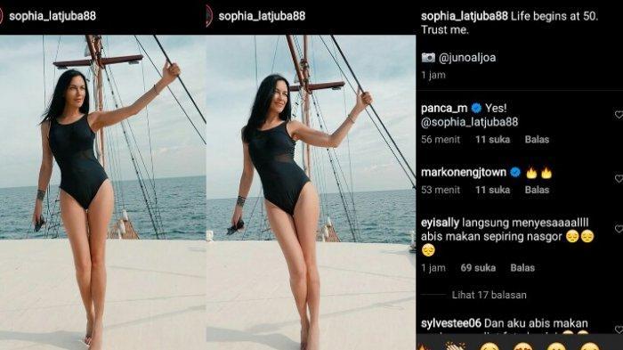 Potret terbaru Sophia Latjuba di usia lebih 50 tahun