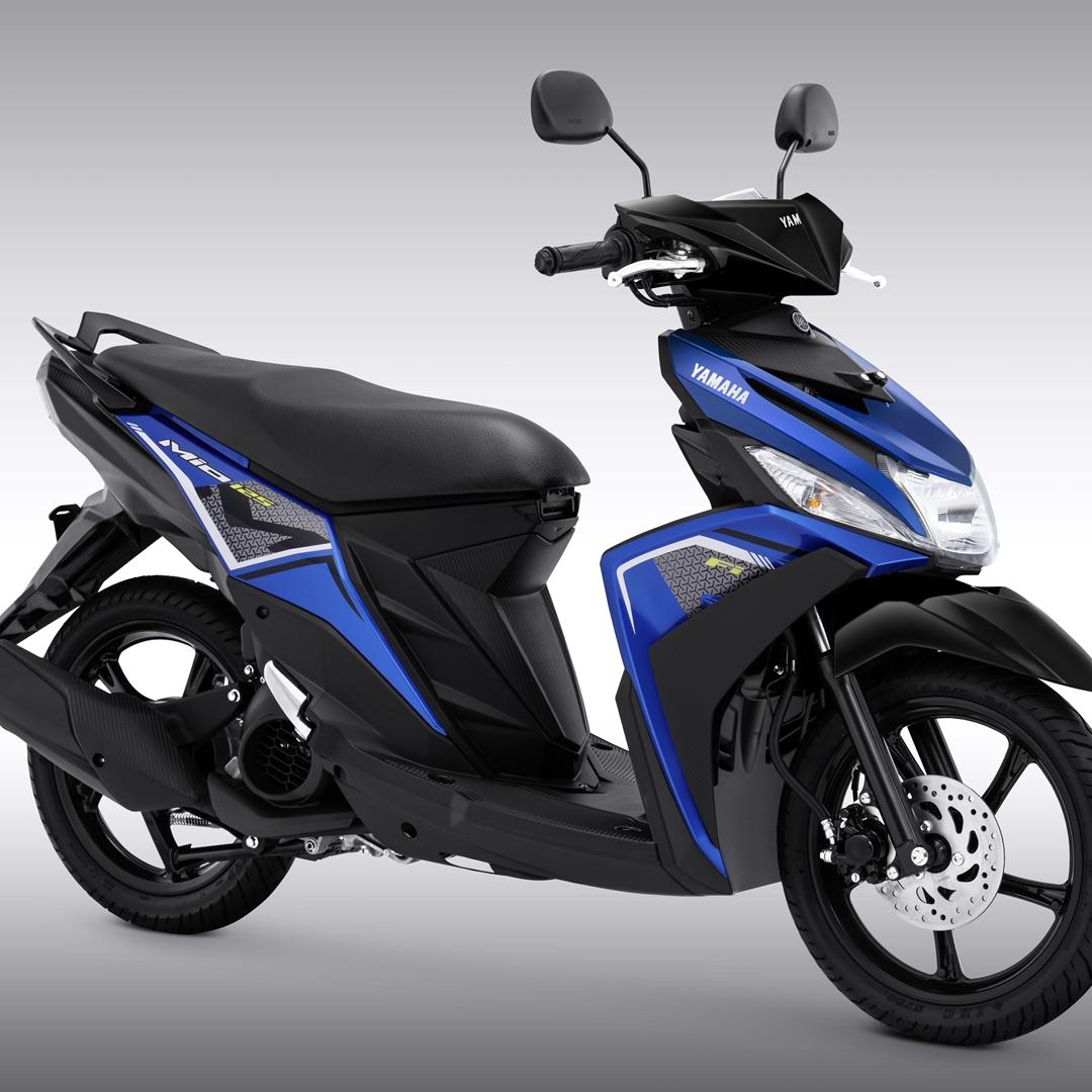 Yamaha Mio M3 Mettalic Blue.