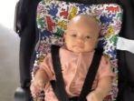 Bibir Arsila Anak Zaskia Gotik Jadi Sorotan, Putri Sirajuddin Mahmud Naik Stroller Mewah