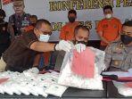 Amankan Penjual Obat di HSU, Polres Balangan Sita Puluhan Ribu Obat Curah