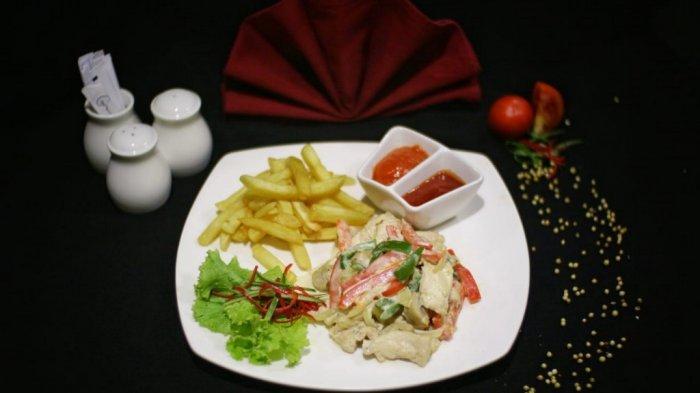 Dua Menu Baru dari Grand Dafam Q Hotel Banjarbaru, Ada Chicken ala King dan Apple Tartin