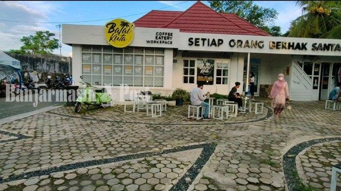 Wisata Kalsel, Balai Kuta Kafe Adalah Cita-Cita Pengurus HIPMI Banjarbaru