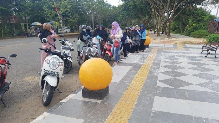 RTH Rantau Baru, Areal Persawahan yang Jadi Alternatif Rekreasi di Tapin