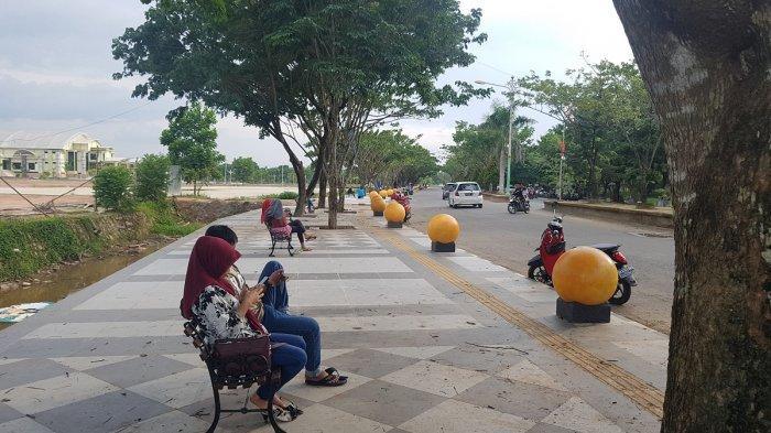 Dibangun 2019 Lalu hingga Kini Musala di RTH Rantau Baru Tapin Belum Difungsikan