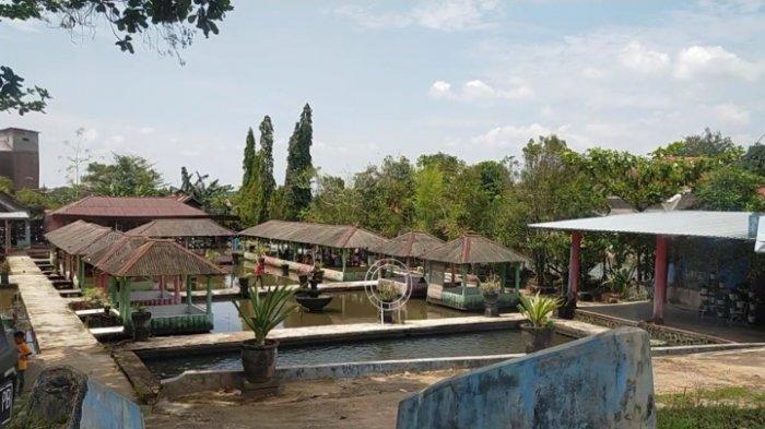 Kuliner Kalsel, tempat bersantap Lesehan Tambak Ikan Bincau Kecamatan Martapura Kabupaten Banjar.