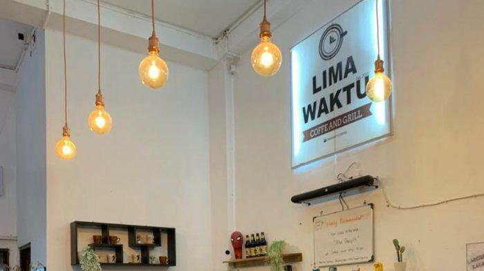 Ini yang Menginspirasi Owner Kafe di Banjarmasin Memberi Nama Lima Waktu Coffee & Grill