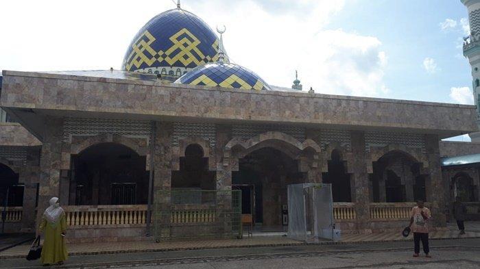 Masjid Raya At Taqwa Kebanggaan HSU, Warga Rasakan Tenang Beribadah